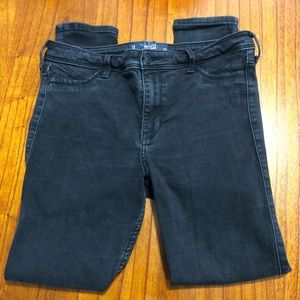Hollister high rise distressed jeggings